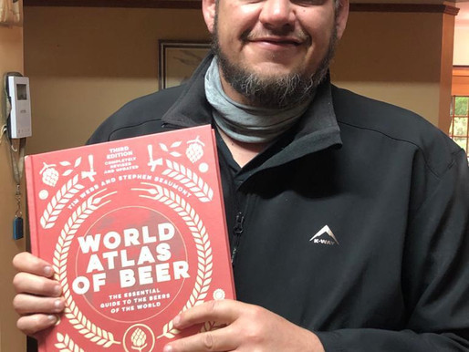 MBco's unique way of Brewing makes waves all the way across the Ocean in the World Atlas of Beer