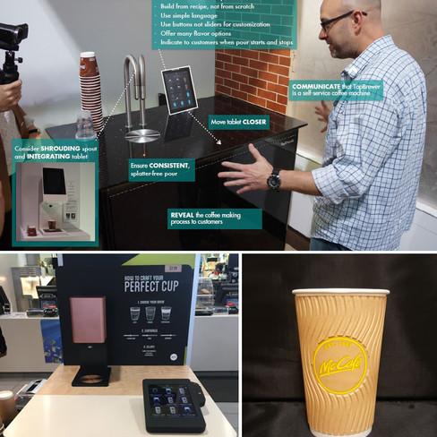 Custom Coffee Kiosk