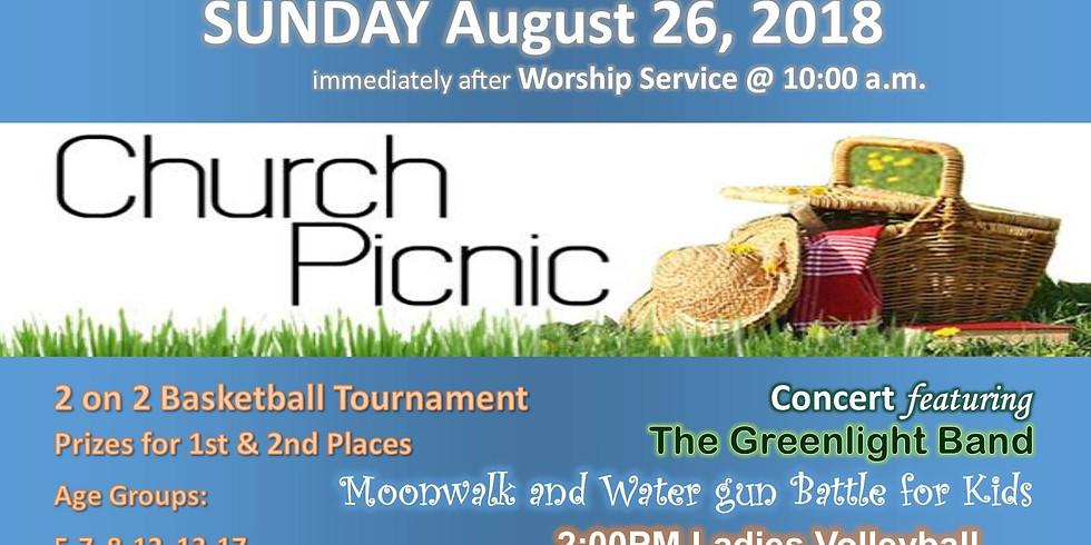 Harvest Community Church, PCA Picnic