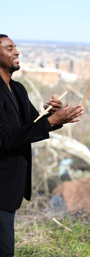 """Tristan """"T-Mar"""" Matin (Percussionist; Business Manager)"""