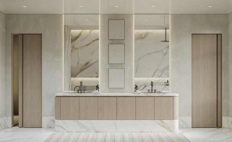 west 11th - master bathroom main shot 01