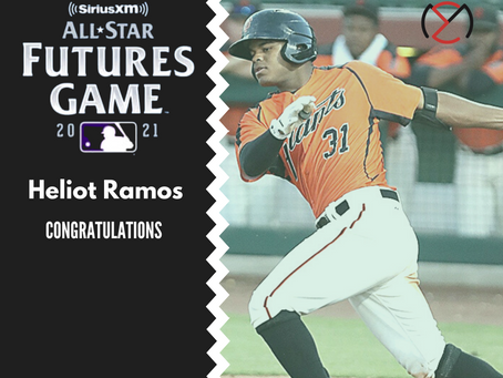 Ramos and Harris II selected to 2021 Futures Game