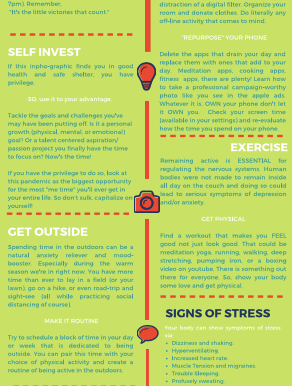 How to stay calm during corona and keep busy in self-isolation