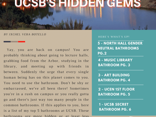 (Re)Discovering UCSB's Hidden Gems