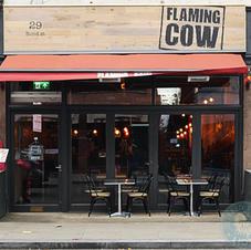 The Flaming Cow, Eton