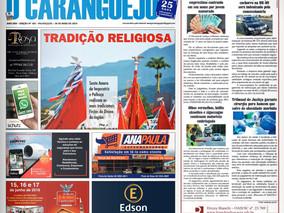 Coluna publicada no jornal O Caraguejo em 30/05/2019