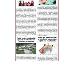Coluna publicada no jornal O Caraguejo em 31/03/2021