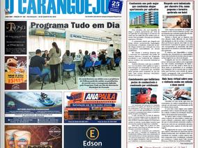 Coluna publicada no jornal O Caraguejo em 30/08/2019