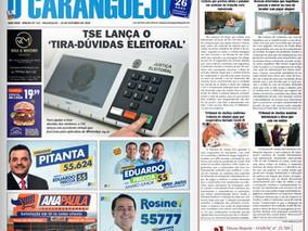 Coluna publicada no jornal O Caraguejo em 28/10/2020