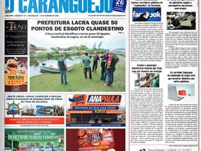 Coluna publicada no jornal O Caraguejo em 31/01/2020