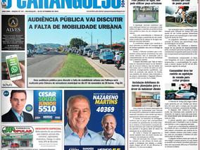 Coluna publicada no jornal O Caraguejo em 30/09/2018