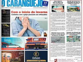 Coluna publicada no jornal O Caraguejo em 28/06/2019