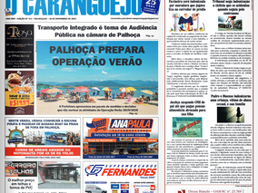 Coluna publicada no jornal O Caraguejo em 28/11/2019