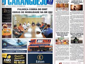 Coluna publicada no jornal O Caraguejo em 30/09/2019