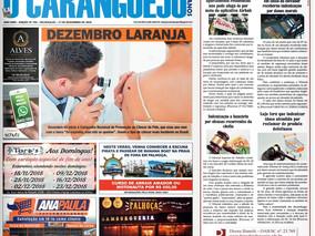 Coluna publicada no jornal O Caraguejo em 27/11/2018