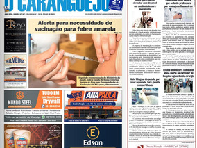 Coluna publicada no jornal O Caraguejo em 31/07/2019