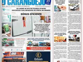 Coluna publicada no jornal O Caraguejo em 31/01/2019