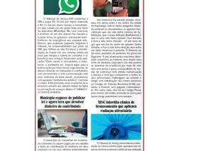 Coluna publicada no jornal O Caraguejo em 28/02/2021