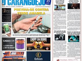 Coluna publicada no jornal O Caraguejo em 28/03/2019
