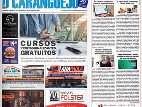 Coluna publicada no jornal O Caraguejo em 30/06/2020