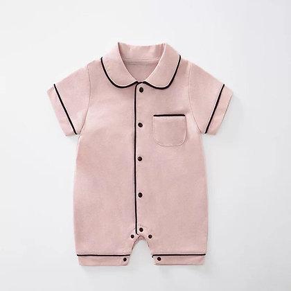 Summer Pink Romper