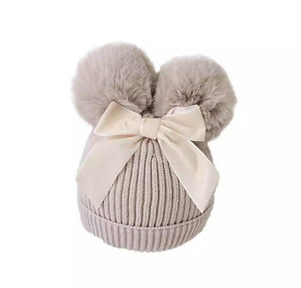 PRE-ORDER- Hat with Bow  -DUE NOVEMBER