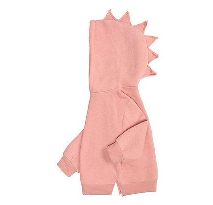 Pink  Dinosaur Hoodie