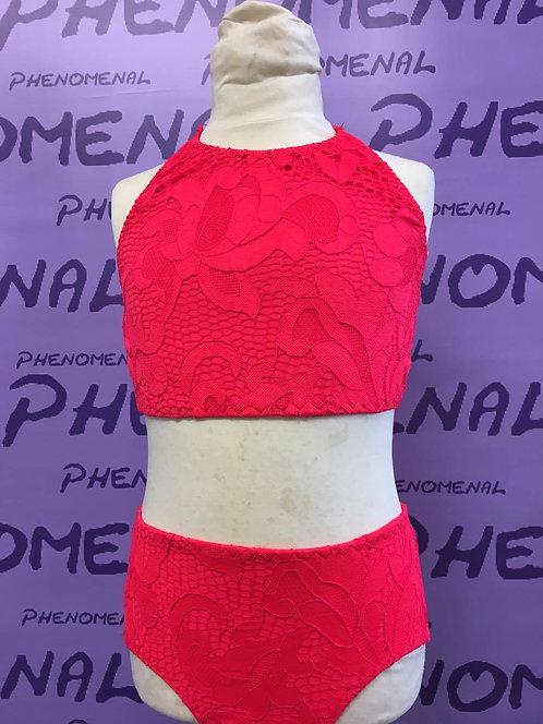 'Poppy' Two piece lace set