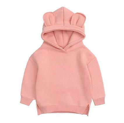 Pink Bear Hoodie