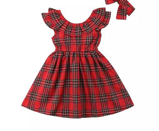 PRE-ORDER - Girl Tartan Dress