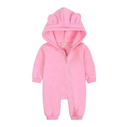 Pink Bear Onesie