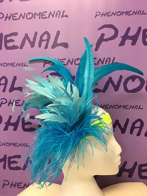 'Jenna' Feathered headpiece