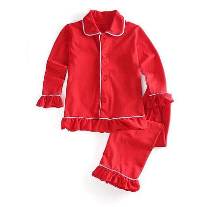 Girls Red Pyjama