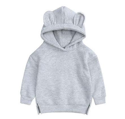 Adult's Grey Bear Hoodie