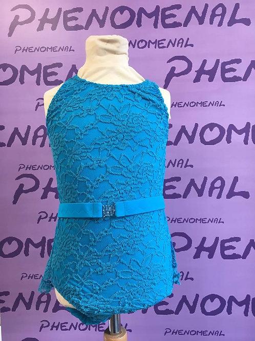 'Eva' Lace leotard with skirt