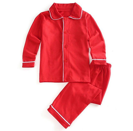 Boys Red Pyjama
