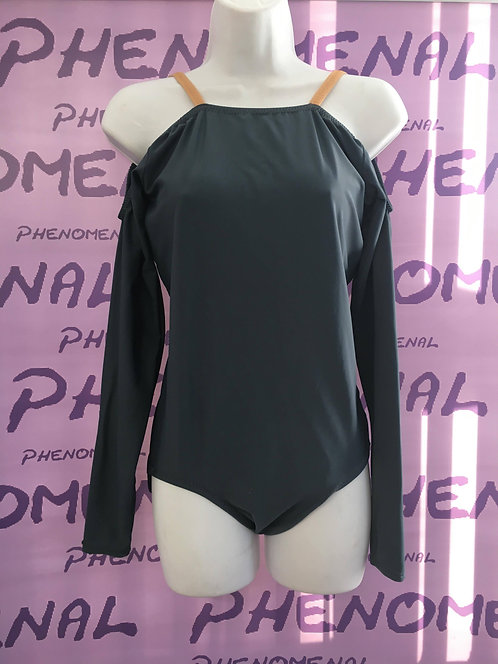 'Madison' off shoulder leotard