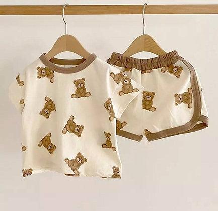 Teddy Bear Short Set