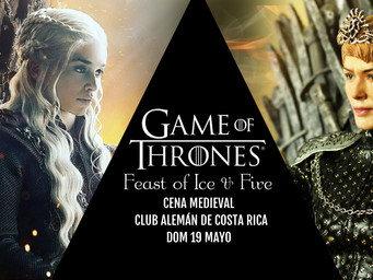 """Cena medieval """"Feast of ice and fire: The end"""""""