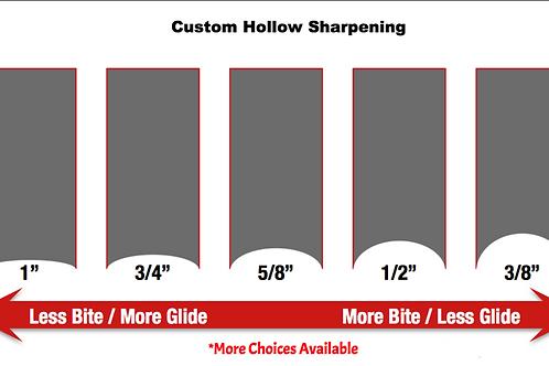 Custom Hollow Skate Sharpening