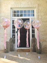 bubble balloon with tassels