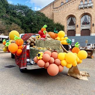 Organic balloon installation