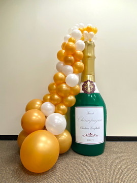 Giant Champagne Bottle