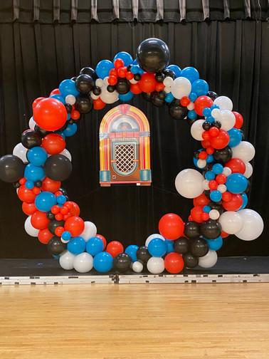 7ft organic balloon ring