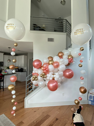Balloon Installation + Ascending bubbles