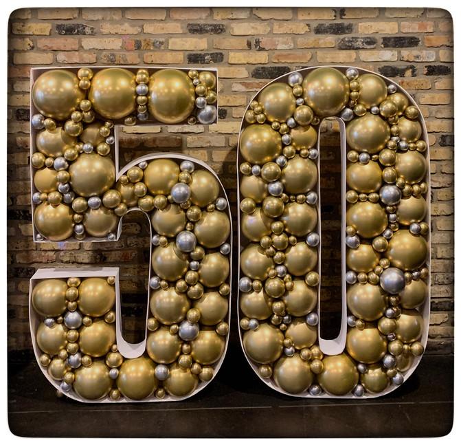 50 Balloon Structure