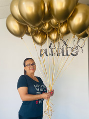 Chrome gold 11-inch balloons