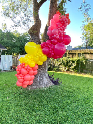 Organic balloon installation