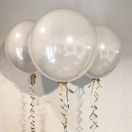 White bubbles