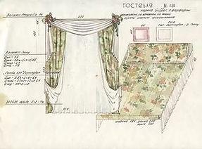 заказ пошив не дорого шторы покрывало пошив